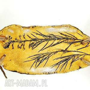 ceramika patera ceramiczna z naturalnym drzewem, sztuka, kuchania, patera, prezent