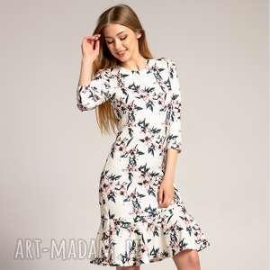 ręcznie zrobione sukienki sukienka francesca floral