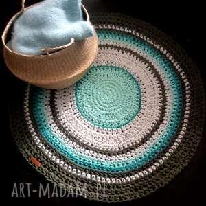 The wool art dywan, sznurek, dywaniksznurkowy, dom,