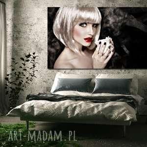 obrazy obraz xxl kobieta 31 -120x70cm design na płótnie stylowy do sypialni