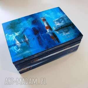 pudełka szkatułka latarnia morska the needles, morska, morze, podróż
