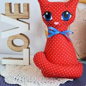 hand-made maskotki kotek torebkowy - maczek 25