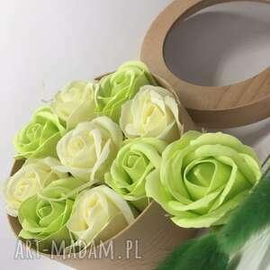 handmade kosmetyczki box flowers with soap 9 roses