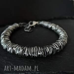 handmade męska srebro