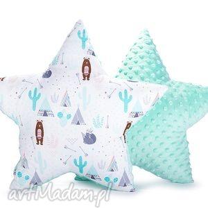 poduszka gwiazda - dziki zachód na mięcie - poduszka