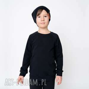 świąteczne prezenty, bluza dresowa czarna, basic, gładka