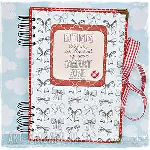 notatnik motywujący, notatnik, notes, scrapbooking, motywacja, prezent, dziewczęcy