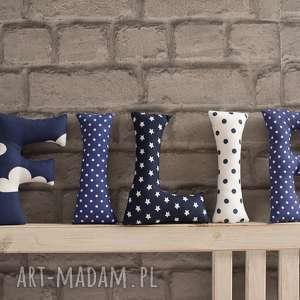 maArt: literki bawełniane filip na ścianę, litery, chłopiec zawieszka dekoracje