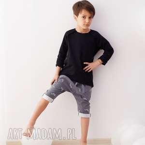 spodnie rybaczki zery - spodnie, rybaczki, baggy, nadruk, zebry, dziecko