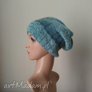 handmade czapki zimowy las