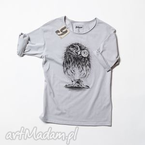 sowa pójdźka koszulka, tshirt, smieszna ubrania