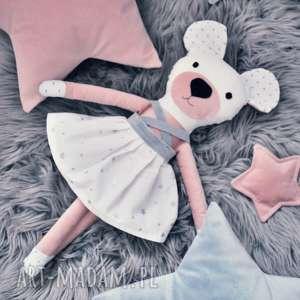 szyjatkowo misia idealna do kochania, lalka, miś, przytulanka, spódniczka