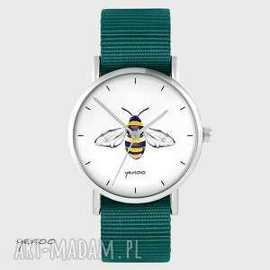 zegarek yenoo - pszczoła morski, nato, zegarek, pszczoła, unisex, oryginalny