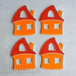 Domek - magnes, domek, kolorowe, energetyczne, kuchnia, wesołe