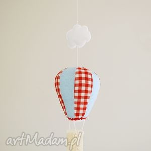 Balon - ozdoba pokoju dziecka, dekoracja, ozdoba, dziecko, balon, lampa, karuzela