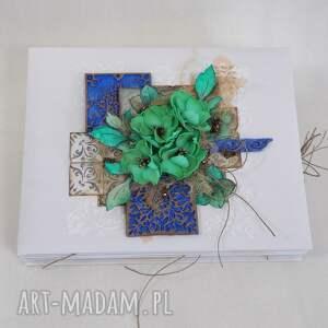 świąteczny prezent, album azulejo, album, scrapbooking, zdjęcia, pamiątka