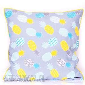 poduszki poduszka cold ananas 40x40cm, ananasy, ananas, w ananasy