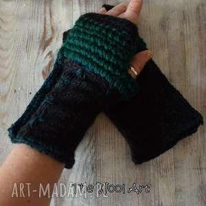 rękawiczki mitenki - mitenki, rękawiczki, dodatki, akcesoria, wełniane