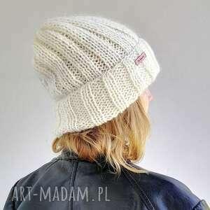 ciepła czapka z merino, czapka, ciepaczapka, nadrutach, naprezent