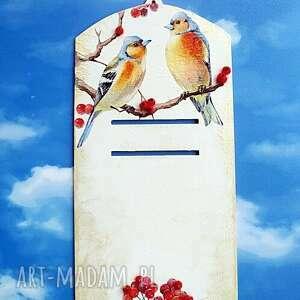 magisches-atelier ptaki deseczka na kalendarz z kolekcji - dekoracja kuchenna