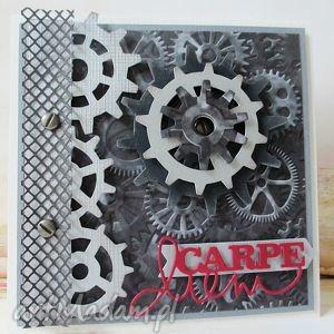 handmade scrapbooking kartki chwytaj dzień