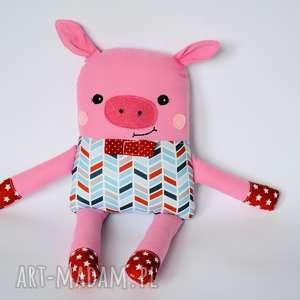 motylarnia chrumka, świnka z klasą - jacek 39 cm, świnka, chłopczyk, kolorowa
