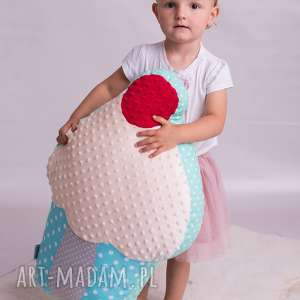 Prezent Poduszka dziecięca muffina duża, muffina, pokój-dziecka, dekoracja-pokoju