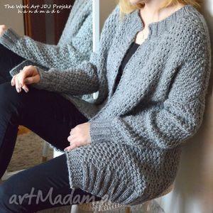 handmade swetry gruby sweter zamówienie. Anna