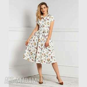 Sukienka sabina midi michalina sukienki livia clue biała