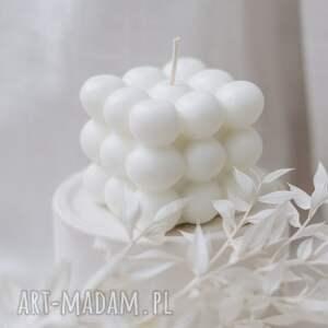 hand-made dekoracje świeca sojowa bąbelka 6 6