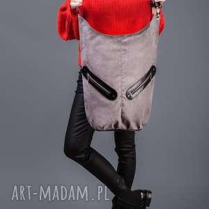 kofi - duŻa torba worek - szara - worek, pojemna, duża, niebanalna, prezent