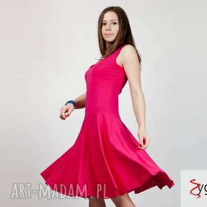 40c9936aa9 Suwenir sukienka zloto sukienki ręczniesprzedane flared rozkloszowana  sukienka bawełniana
