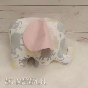 słoń z szeleszczącymi uszami, zabawki antyalergiczne szeleszczące