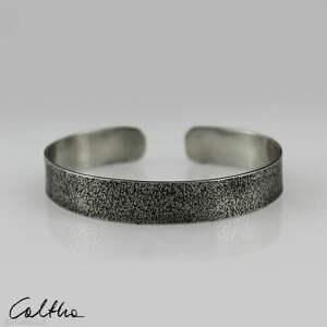 piasek - metalowa bransoletka 1 cm 190804-03, bransoletka, regulowana
