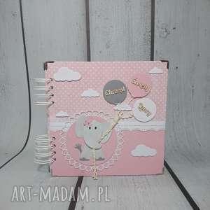 słonik w groszki, urodziny, narodziny, roczek, prezent, słonik