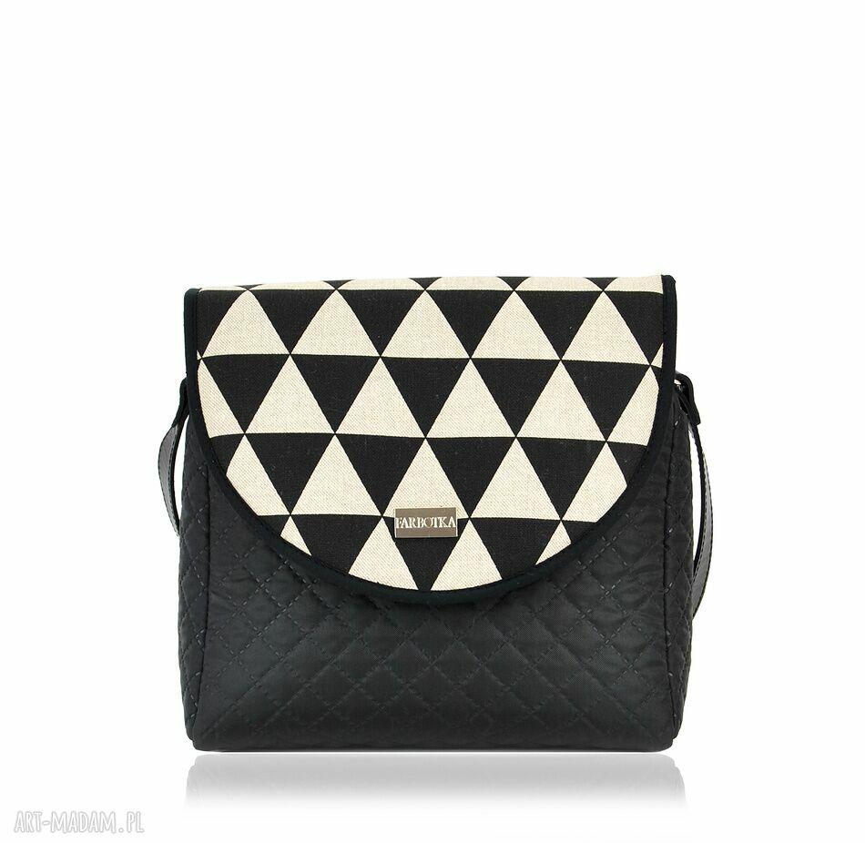 hand made na ramię torebka puro 724 geometry 5