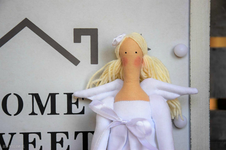 nietuzinkowe lalki anioł na pamiątkę chrztu świętego