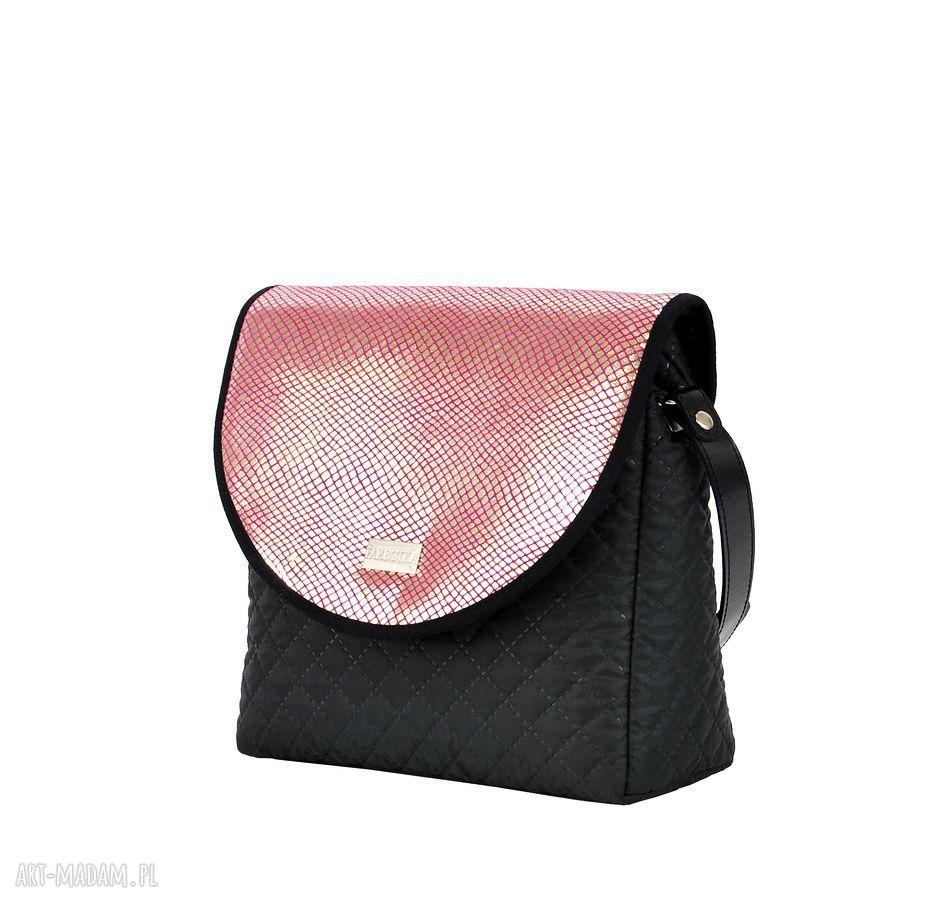 ręcznie wykonane na ramię wymienne torebka puro 736 pink vintage