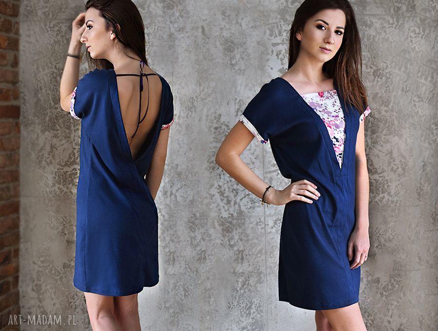 handmade sukienki sukienka designe yourself 100% bawełna