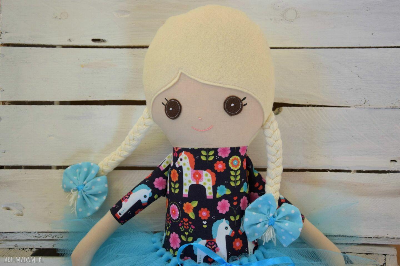 niepowtarzalne zabawki szmacianka szmacianka, baletnica w tutu