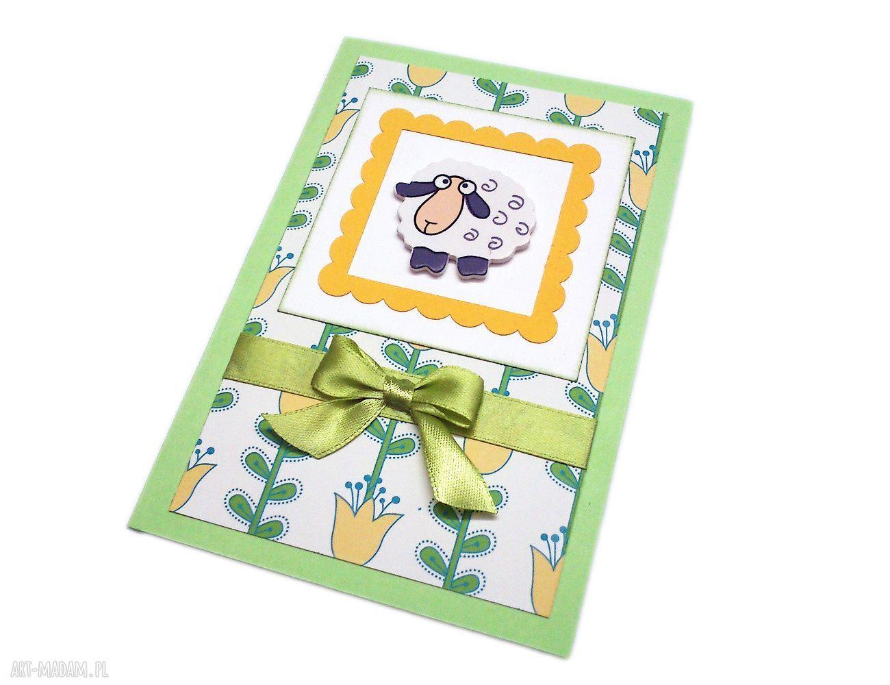 handmade prezent na święta kartka wielkanocna
