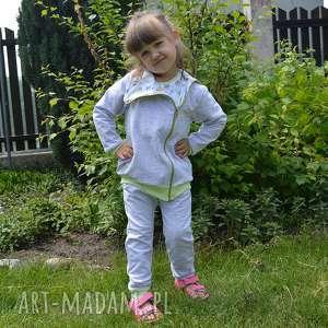 sowy dwustronna bluza, bawełna ograniczna, szara, dla dziewczynki, chłopca