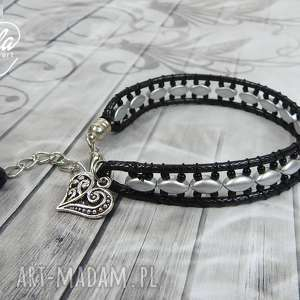 0706/mela bransoletka wrap bracelet pojedyncza, bransoletka, bracelet