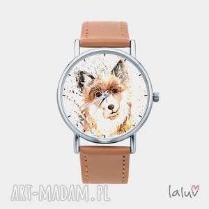 Prezent Zegarek z grafiką PIES, prezent, przyjaciel, łapa, buda, kolorowy, słodki