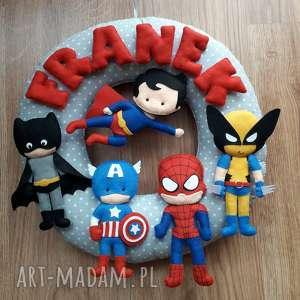pokoik dziecka personalizowana girlanda superbohaterowie, girlanda, batman