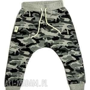 GRUBE spodnie MORO baggy, spodnie, moro, grube, zima, dziecko, baggy
