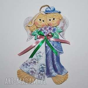 było tak - anioły ślubne lub jubileuszowe, anioły, dekoracja, prezent, ślub