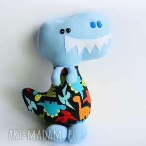 dinozaur t-rex wojtek 42 cm, dinozaur, chłopiec, maskotka, przytulanka