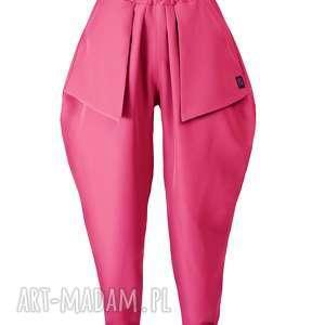handmade spodnie różowe spodnie z kieszonkami r. xxxxl