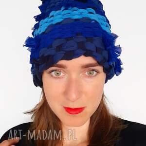 handmade czapki czapka tkana